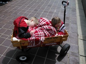 Parades, and process control, can be exhausting if you're not working efficiently! Photo by David Oeters.